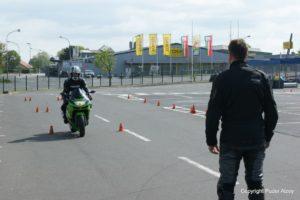 Sicherheitstraining für Motorradfahrer